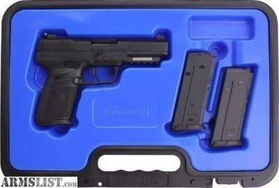 For Sale: FN AMERICA FIVE-SEVEN 5.7X28 BLACK NIB