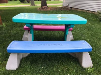 Fisher Price Picnic Table Adjustable