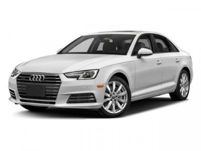 2018 Audi A4 Tech Premium Plus (Ibis White)