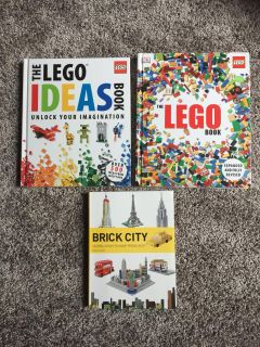 Group of LEGO books