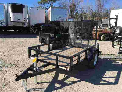 2018 Sure-Trac 5 x 8 Tube Top Utility Trailer