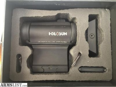 For Sale/Trade: Holosun 2moa red dot