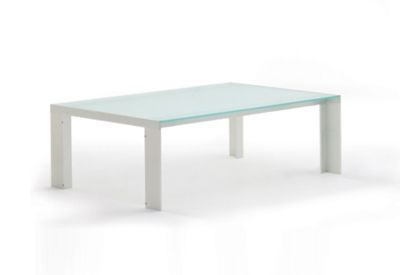 Deneb glass coffee table