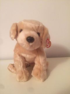 "NWT Beanie Baby ""Fetch"" Puppy. LARGE size. Great for Christmas gift"