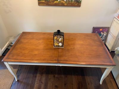 French Provencale Farmhouse large dining room table
