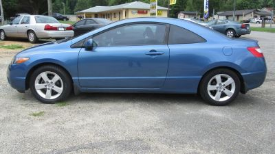 2008 Honda Civic EX (Blue)