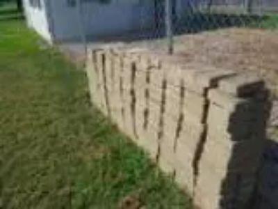 Brown pavers deck blocks large square pavers (Baltimore)