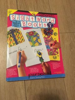 Sight Words Workbook w/ all new pages for Kindergarten - 1st grade by Creative Teaching Press