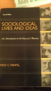 $25 OBO (Soc 100) Sociological Lives & Ideas