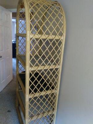 Bamboo shelf