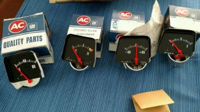 Purchase 1969 70 NOS GM Original Chevy Nova speed center Gauges speed 12 bolt COPO Motion motorcycle in Edgewater, Maryland, United States, for US $349.99