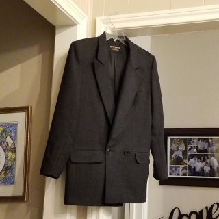 WOOL DOUBLE BREASTED BLAZER