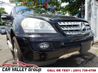 2008 Mercedes-Benz M-Class ML350 (Obsidian Black Metallic)