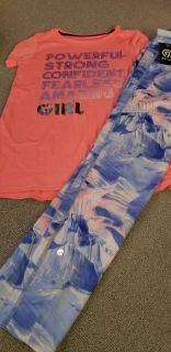 C9 champion leggings and top size 14/16