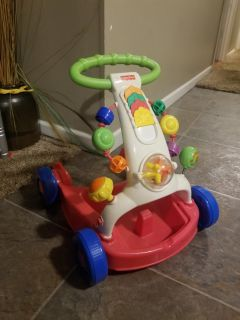 Fisher Price Walker. Handle comes off for multiple positioning. FIRST COME. PICKUP TODAY