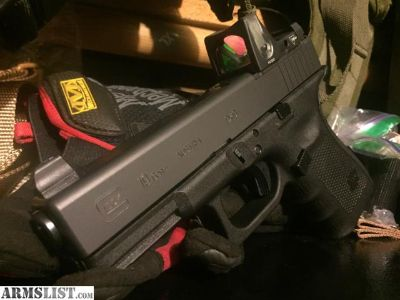 For Sale: Gen4 Glock 19 MOS/ Brand new With Trijicon rmr