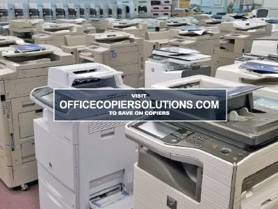 Office Copier machines, Xerox, Canon, Konica, Sharp and More.