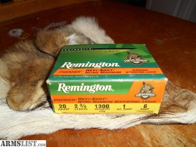 For Sale: Remington HeviShot Waterfowl Loads