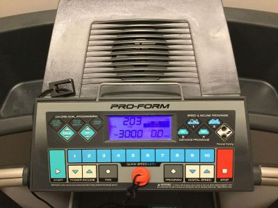 Treadmill with incline $150