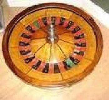 "$3,500 31"" George Mason Roulette Wheel"