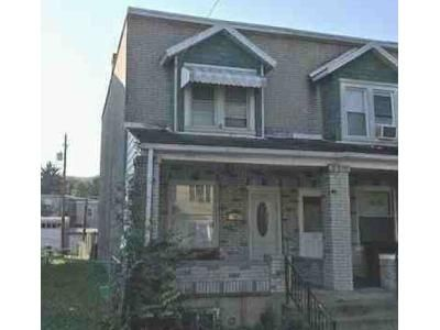 3 Bed 1 Bath Foreclosure Property in Allentown, PA 18109 - E Elm St