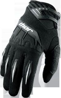 Find NEW THOR MX MENS ADULT BMX ATV RIDING BLACK SPECTRUM RACE GLOVES RACING MEDIUM 9 motorcycle in Ellington, Connecticut, United States, for US $18.00