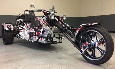 2017 CONQUEST TRIKES SPARTAN CAMOUFLAGE Trikes Motorcycles Clearwater, FL