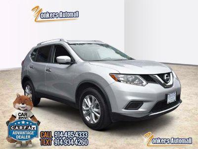 2015 Nissan Rogue SV w/Navigation (Brilliant Silver)