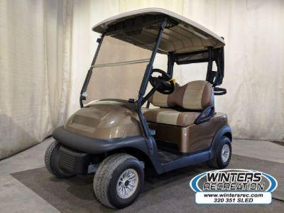 2015 Club Car Champion Electric Golf Cart STREET READY Bronze Brown