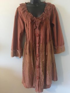 ADORABLE and super cute with boots ! Boutique top by PRETTY ANGEL size L but runs large . Please see other pics
