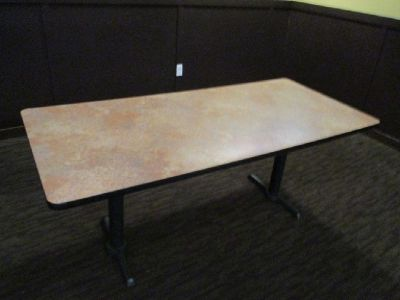 "(6) 72""x33""x30"" Tables RTR#7082649-02"