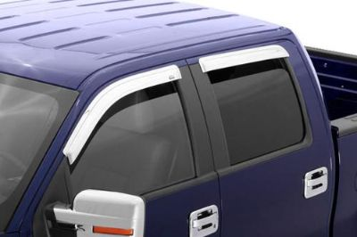 Find AVS 684443 04-08 Ford F-150 Front, Rear Window Covers Chrome Chrome Ventvisor motorcycle in Birmingham, Alabama, US, for US $123.73