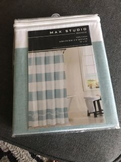New! Shower curtain. Paid $20