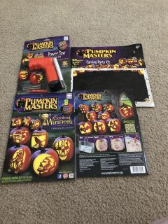 Pumpkin Masters templates and power carving tool