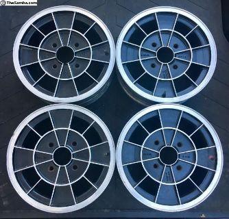 Early Ronal Alloy Wheels 5x15 Kleeblatt R2 4x130