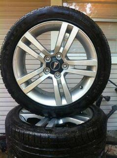 Tires from Pontiac G8
