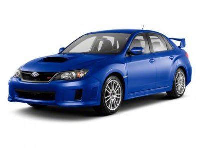 2013 Subaru Impreza WRX STI Limited (BLACK)