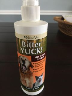 Bitter yuck spray
