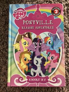 My little pony 6 in 1 book