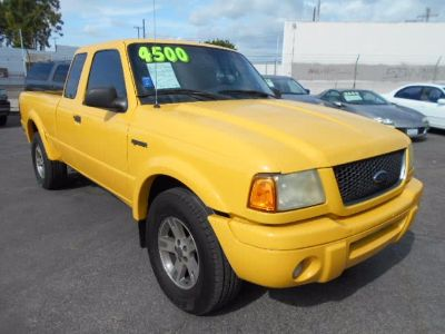 2002 Ford Ranger Edge (Yellow)