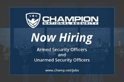 Security Guard Jobs at Champion National Security