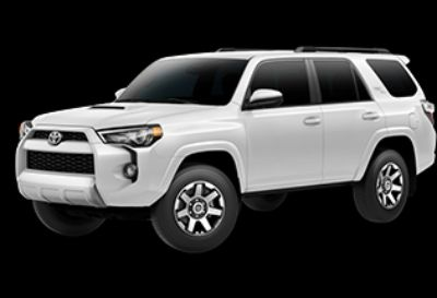 2019 Toyota 4Runner SR5 (Super White)