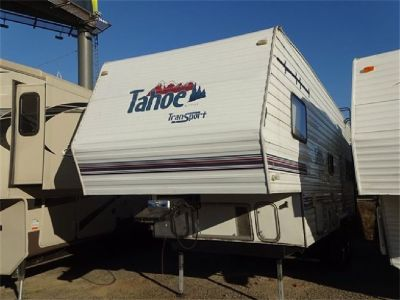 2002 Tahoe Transport 27TB 5th Wheel Toy Hauler
