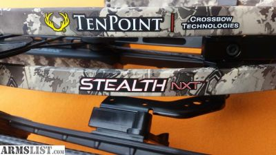 For Sale/Trade: Ten Point Stealth NXT