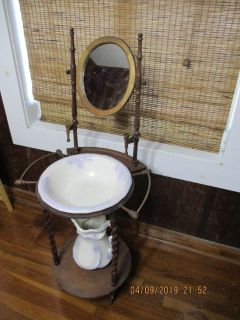 Antique Reproduction Wash Station