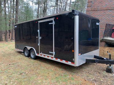 2019 Carmate enclosed trailer