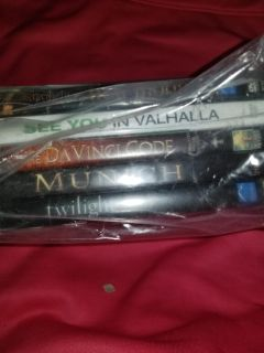 Bag of dvds. As is untested