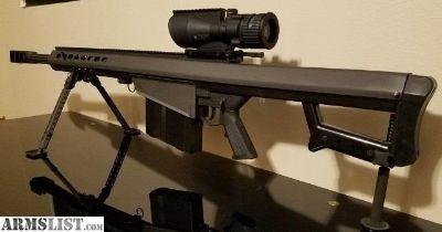 For Sale: LNIB Barrett M82A1CQ with Trijicon ACOG TA648-50G