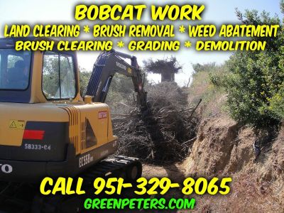 Land Clearing, Grading, Weed Abatement Menifee