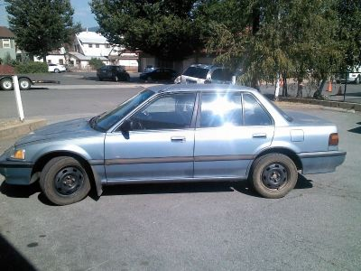*** FOR SALE 1990 Honda Civic-Great Student Car!!! Quincy, CA***